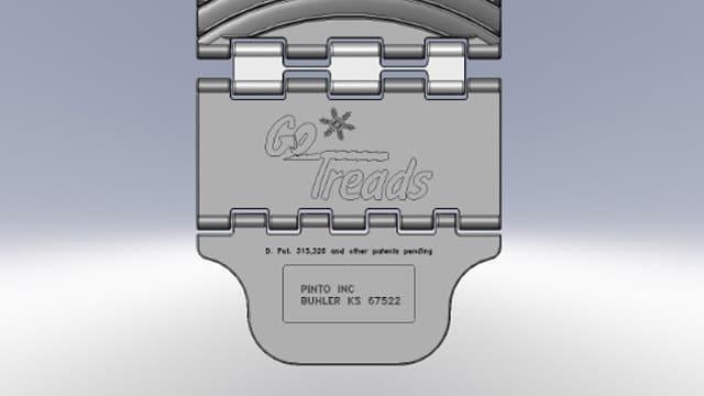GoTreads Custom Logo Placement