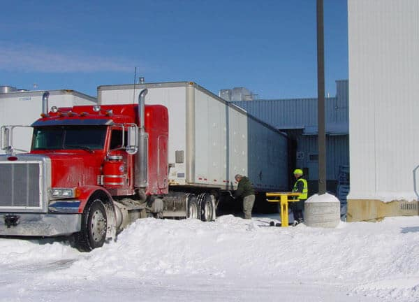 GoTreads Traction Device for getting Semis out of Snow
