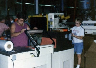 First production run of Go Treads July 5th, 1991