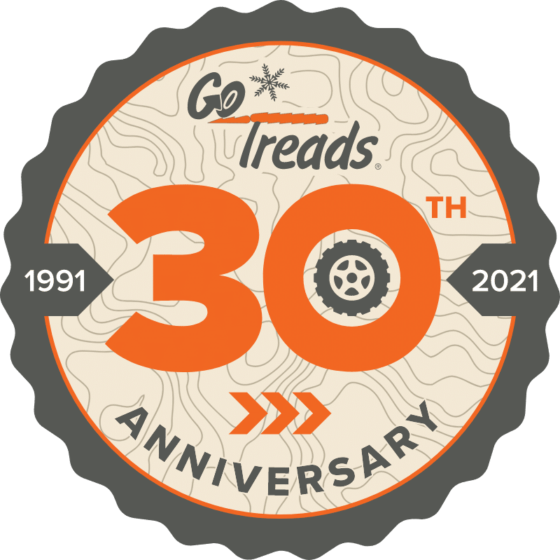 GoTreads 30th Anniversary Badge