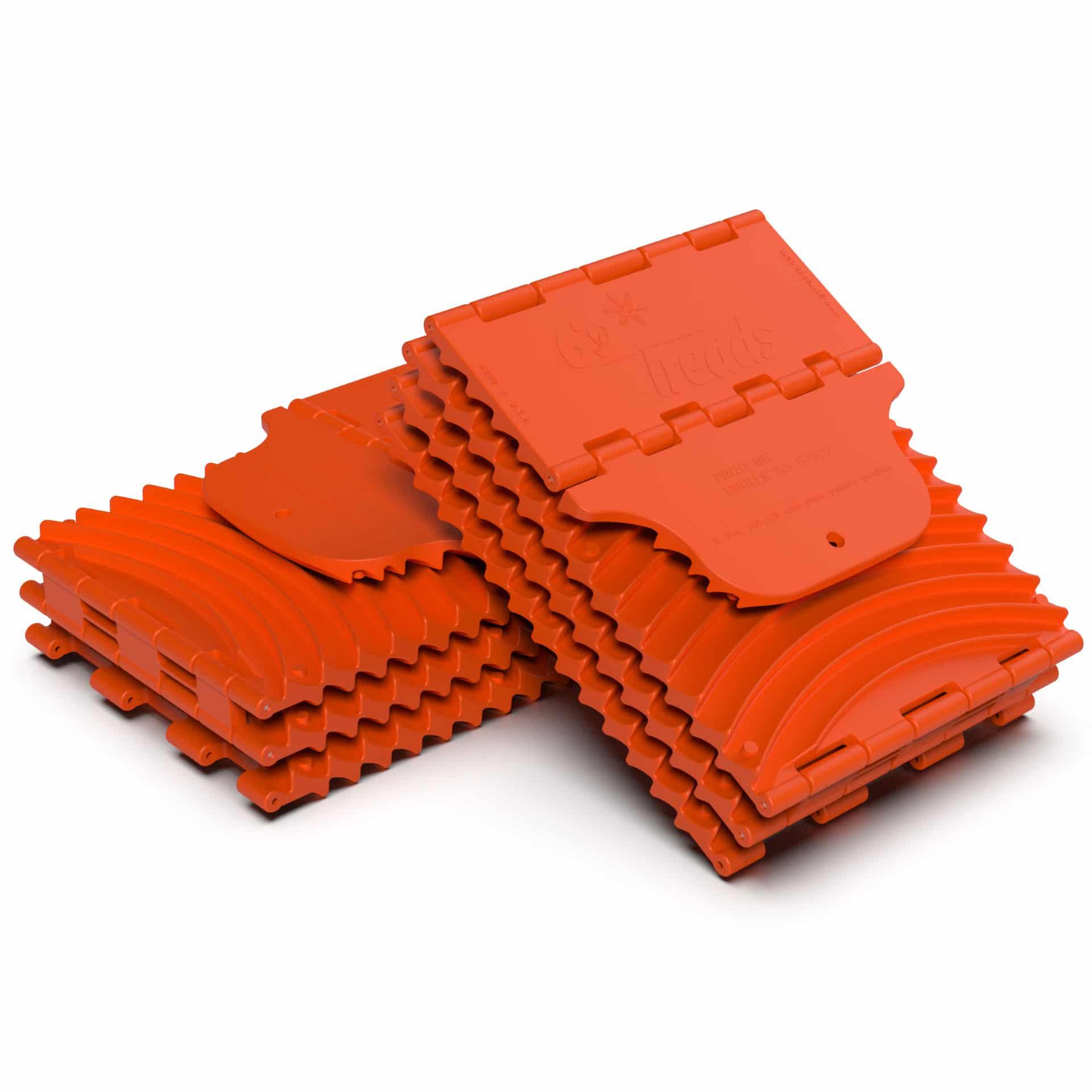 GoTreads Standard Orange Folded