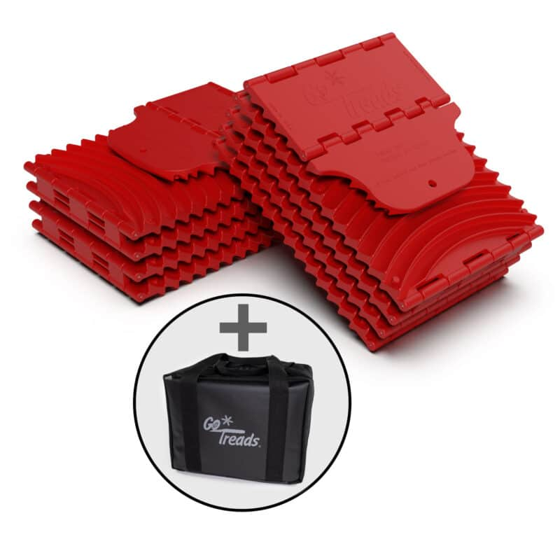 GoTreads XL Bundle - RED