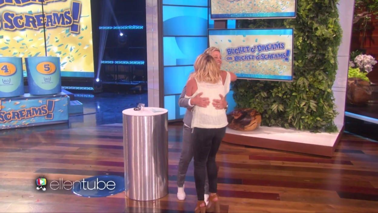 Faith on Ellen