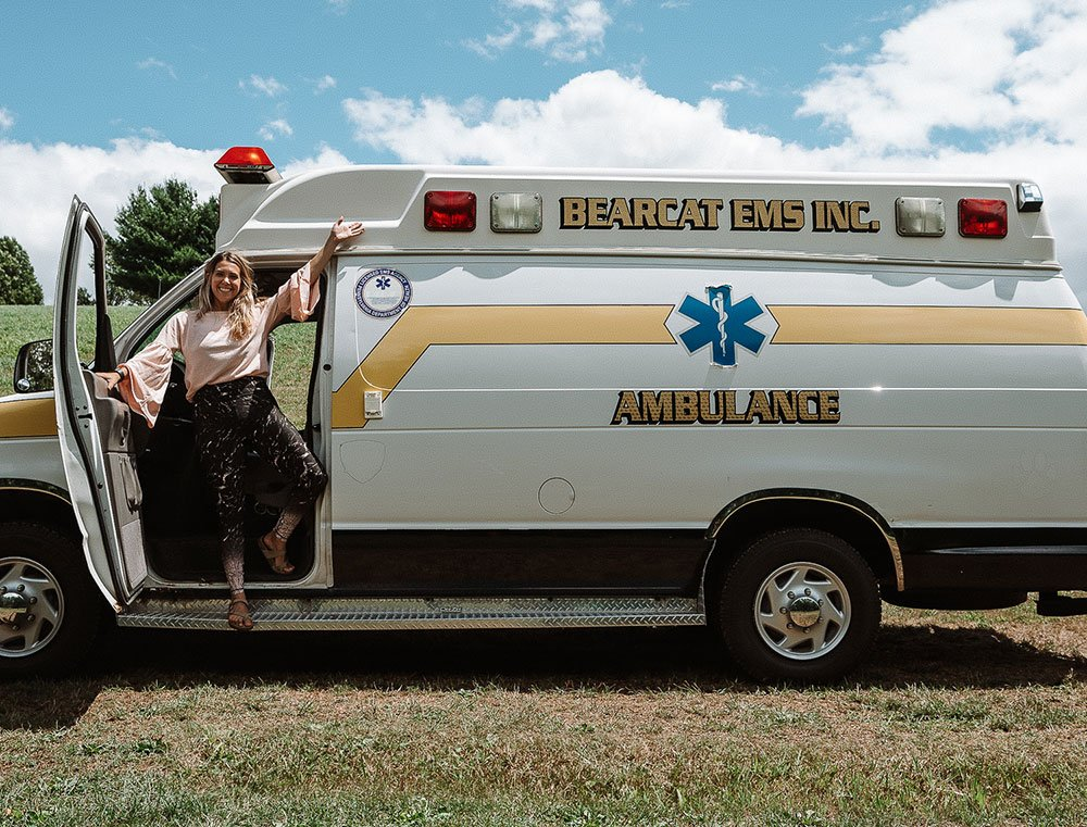 Van life Ambulance