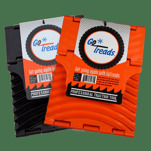 GoTreads in Black and Orange