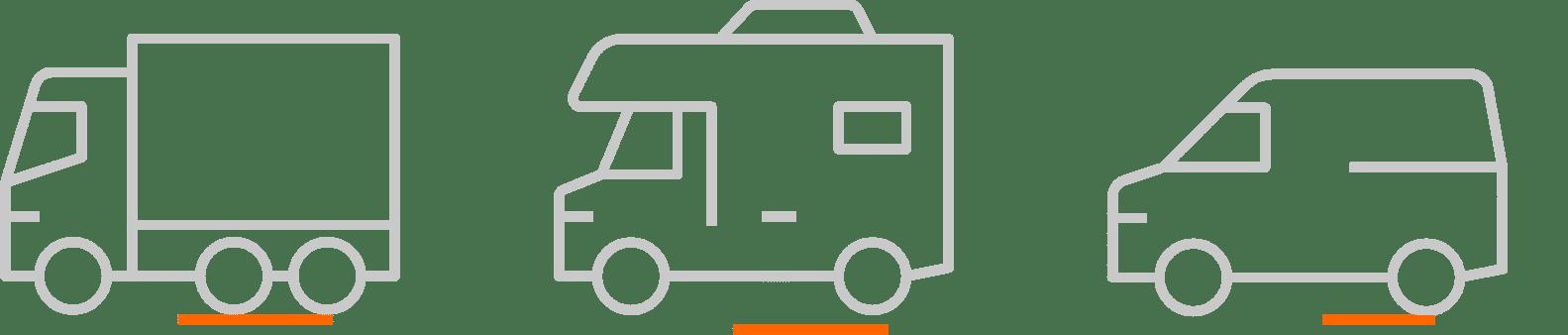 trucks vans